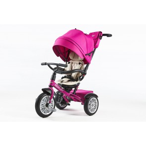 Bentley Trike Dreirad 6 in 1 - Fuchsia pink