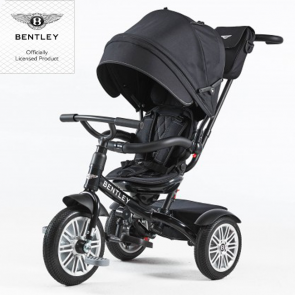 Bentley Trike Dreirad 6 in 1 - onyx black