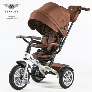 Bentley Trike Dreirad 6 in 1 - Satin white